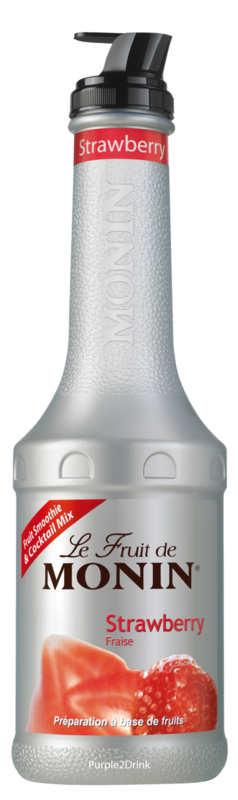 MONIN FRUITMIX Strawberry - Aardbei 1 Liter