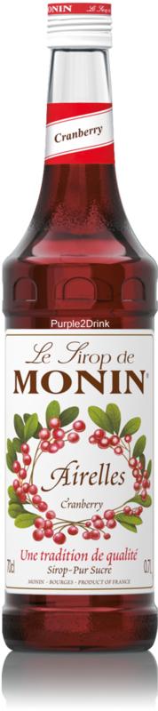 Monin Airelles - cranberry 70cl