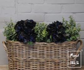 Set Hortensia Diepblauw/Eucalyptus