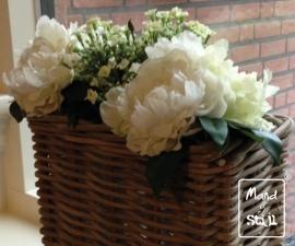 Kunstbloemen Set White special