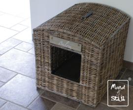 Kattenbak cover groot (55x66x60cm)