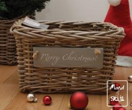 Kleine lademand feestdagen (34x24x20cm)