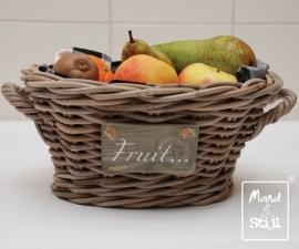 Fruitmandje met hengsels (35x24x15cm)