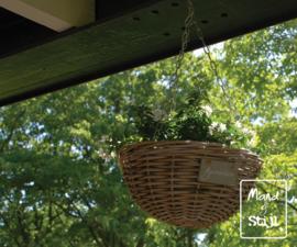 Hangmand voor planten klein (40x20cm)