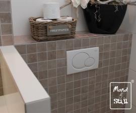 Kleine smalle mand voor toiletpapier (29x18x12cm)