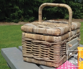 Kinder picknickmand (30x20x18cm)