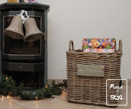 Grote vierkante kerstmand (60x60x55cm)
