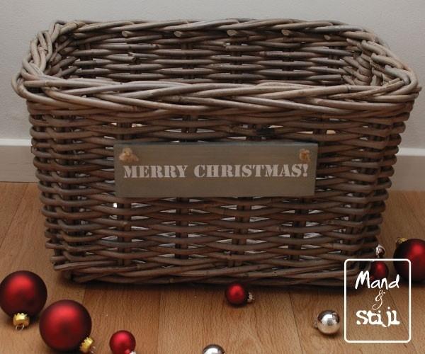 Middelgrote lademand feestdagen (43x33x25cm)