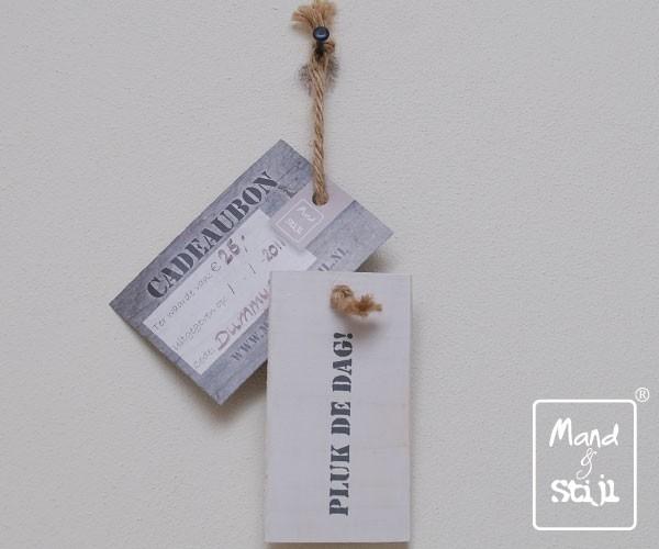 Cadeaubon € 75,- Mand & Stijl