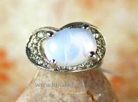 Ring met Moonstone