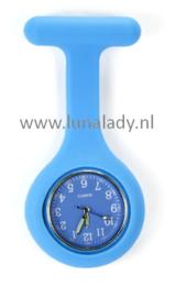 Verpleegster klokje met meegekleurde wijzeplaat. 413
