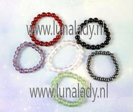 9 stuks edelstenen ringen