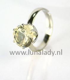 Ring met rhinestones  506