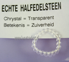 Edelstenen ring,  Crystal