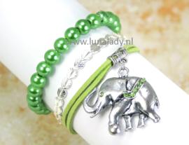 135 Multi armband olifant