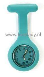 Verpleegster klokje met meegekleurde wijzeplaat. 415