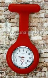 Verpleegster klokje rood