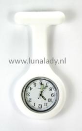 Verpleegster klokje met meegekleurde wijzeplaat. 418