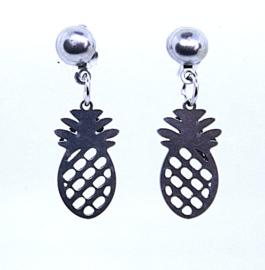 208 RVS oorsteker ananas