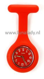 Verpleegster klokje met meegekleurde wijzeplaat. 403