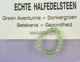 Edelstenen ring,  Aventurine