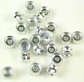 Aluminium tussenkraal. 24 stuks