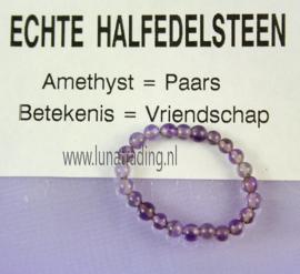 Edelstenen ring,  Amethist