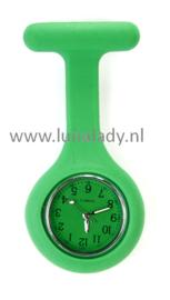 Verpleegster klokje met meegekleurde wijzeplaat. 416