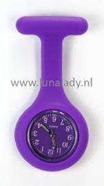 Verpleegster klokje met meegekleurde wijzeplaat. 405