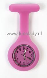 Verpleegster klokje met meegekleurde wijzeplaat. 407