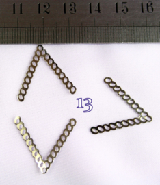 13 zilver