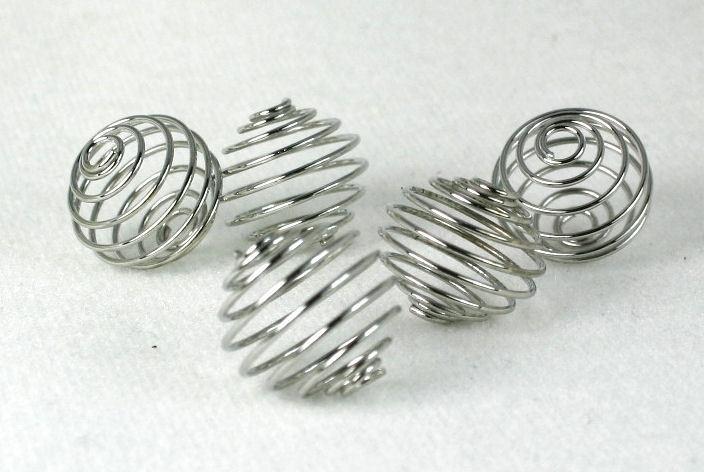 422 Metalen draadkraal 4x