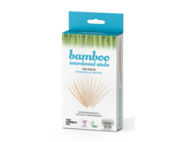 Humble Brush bamboe tandenstokers - 100 stuks