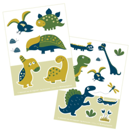 2 stickervellen a6 Dinosaurrr - Bora illustraties