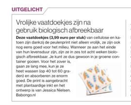 Algemeen Dagblad 20 februari 2020 - Babongo vaatdoekjes