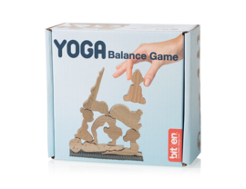 Yoga balance game  van hout