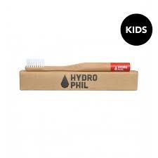 Hydrophil bamboe kindertandenborstel rood extra soft