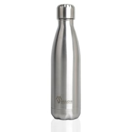 Made Sustained RVS dubbelwandige fles Knight 500ml - silver