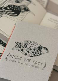 Kleurboekje Birds we Lost - Lilarubyking