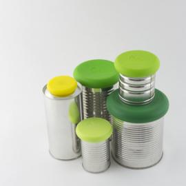 Food Huggers - set van 5 herbruikbare siliconen wraps voor groente en fruit