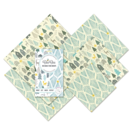 BeeBee & Leaf bijenwasdoeken - Winter Family pack