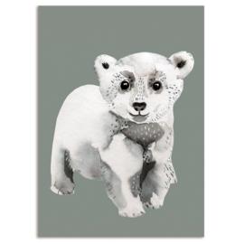ansichtkaart Polar Bear - Nuukk