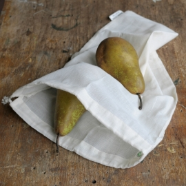 Reusable fruit and vegetable bags Re-Sack Voile x 2
