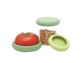Food Huggers - set van 3 herbruikbare siliconen wraps voor groente en fruit