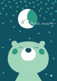 A3 poster Sweet Dreams - BORA illustraties