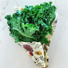 Bee's Wrap vegan wasdoeken  - Meadow Magic 3 stuks, klein, middel en groot