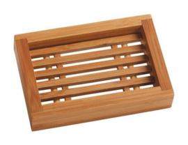 Bamboo soapdish