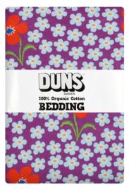 Eenpersoons dekbedovertrekset Flower Orchid DUNS Sweden - 150x200cm
