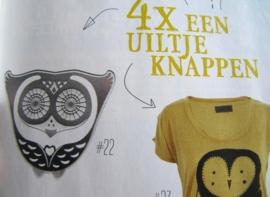 Old News lectuurmand en bladwijzer Uggly in Buitenleven, september 2012