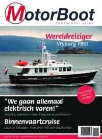Motorboot oktober 2015 - Fishermans regenhoedje van bioplastic